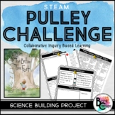 STEM Pulley Building Challenge *Editable Google Version Included*
