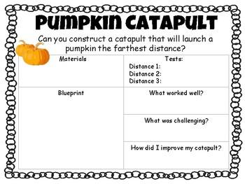STEM Pumpkin Chunkin Catapult