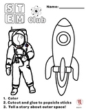 STEM Puppets - Astronaut and Space Ship
