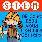 STEM QR Code Read Aloud Listening Centers