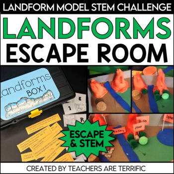 STEM Quest featuring Landforms An Unlock the Box Challenge