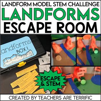 Escape Room with Landforms