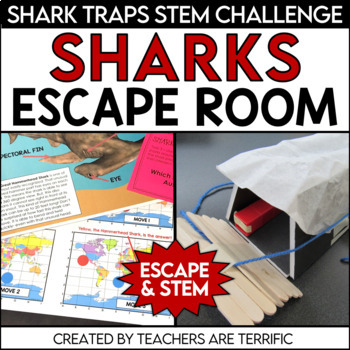 Escape Room Quest featuring Sharks
