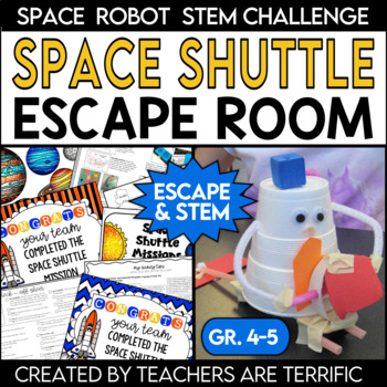 STEM Quest featuring Space Shuttle Missions An Unlock the Box Challenge
