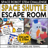 Escape Room Quest featuring Space Shuttles