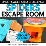Spiders STEM Quest An Unlock the Box Challenge