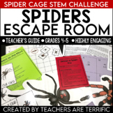 Escape Room Quest featuring Spiders