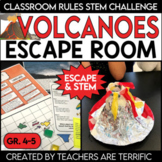 Volcanoes Escape Room