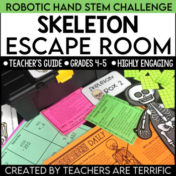 STEM Quest featuring the Skeleton An Unlock the Box Challenge
