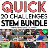 STEM Quick Challenge Bundle