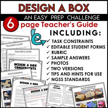 STEM Quick Challenge Design a Container