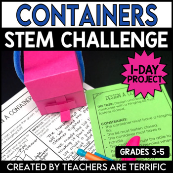 STEM Quick Challenge Design a Container