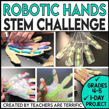 STEM Quick Challenge Mechanical Hand
