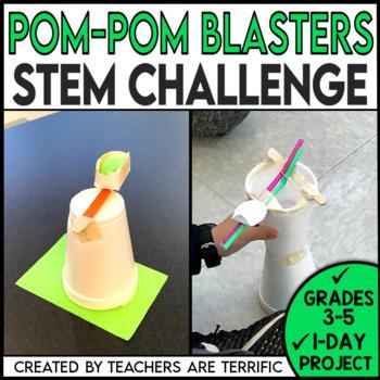 STEM Quick Challenge Pom-Pom Blasters