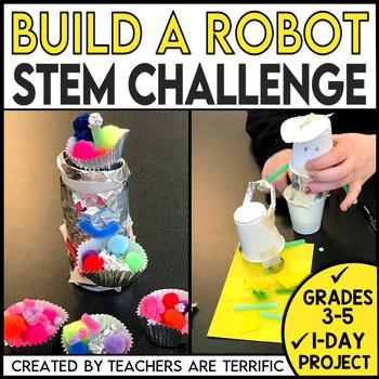 STEM Quick Challenge Robot Man