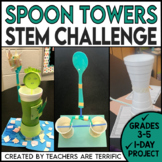 STEM Quick Challenge Spoon Towers