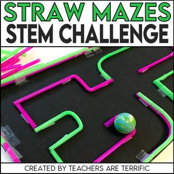 STEM Straw Maze Quick Challenge