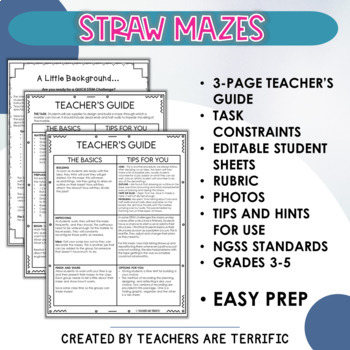 STEM Quick Challenge Straw Maze
