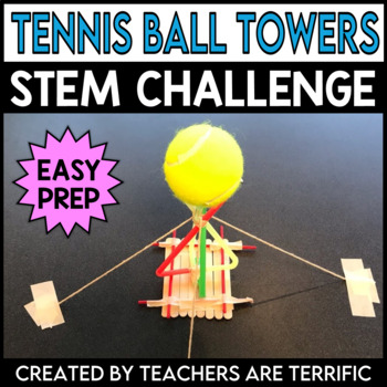 STEM Activity Challenge Tennis Ball Tower