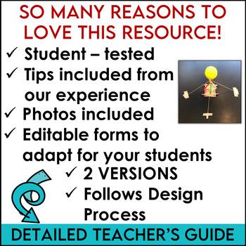 STEM Challenge Tennis Ball Tower