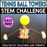 STEM Challenge Tennis Ball Tower