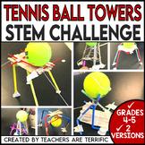 Tennis Ball Tower STEM Challenge