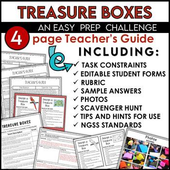 STEM Quick Challenge Treasure Boxes