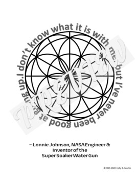 STEM Quotes Coloring Pages for Black History Month