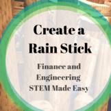 STEM Build a Rain Stick with a Budget