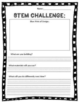 STEM Recording Sheet