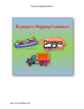 STEM - Repurpose Shipping Containers