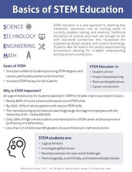 STEM Activity Resource Guide & Handouts