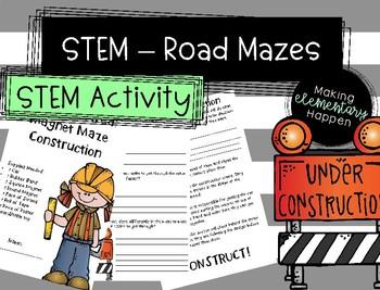 STEM - Road Mazes