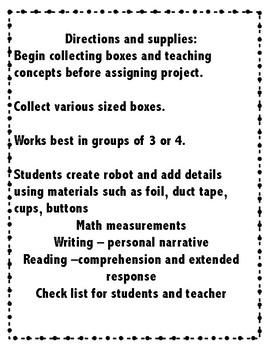 STEM Make and Create your own ROBOT