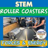 STEM Roller Coaster Lab & Card Sort Engineering Design Process