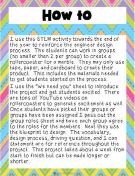 STEM Rollercoaster Project