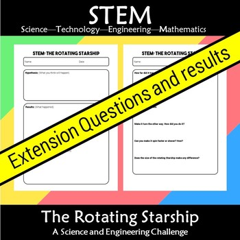 STEM Rotating Starship: A Science and Engineering Challenge