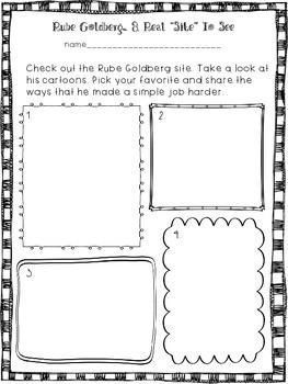 STEM: Rube Goldberg Engineering Pack