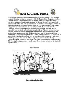 STEM - Rube Goldberg Project