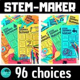 STEM MakerSpace choice boards BUNDLE