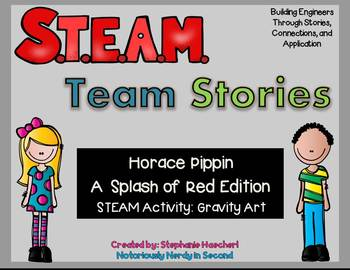 STEM/STEAM-A Splash of Red (Black History, Veterans, Memorial, Valentines Day)
