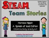 STEM/STEAM-A Splash of Red (Black History, Veterans, Memorial, Valentines Day)