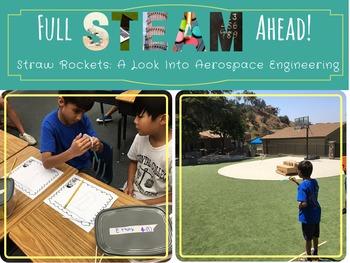 STEM / STEAM Activity: Straw Rockets - A Look Into Aerospa