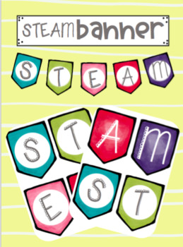STEM - STEAM Banner