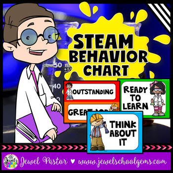 STEM Behavior Chart (STEAM Clip Chart)