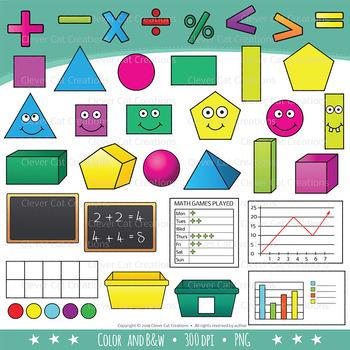 STEM / STEAM Clip Art Bundle 5: YOUNG KIDS & Math