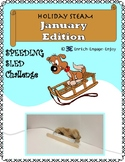STEM STEAM Challenge: January Edition Speeding Sled Challenge