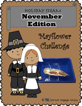 STEM STEAM Challenge: November Edition -- Mayflower Challenge