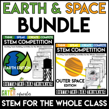 STEM Activities | Earth Day and Outer Space | Outta the Box | Bundle