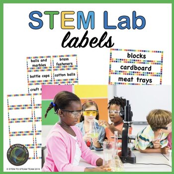 Labels for Your STEM Lab Materials